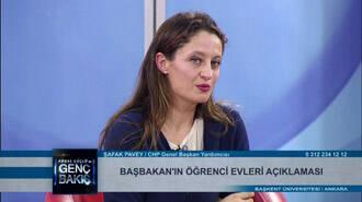 Şafak Paveyin, Başbakanın öğrenci evleri açıklaması ile ilgili yorumları