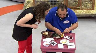 Böyle yumurta yeme görülmedi! Yarışmacıdan ilginç taktik!