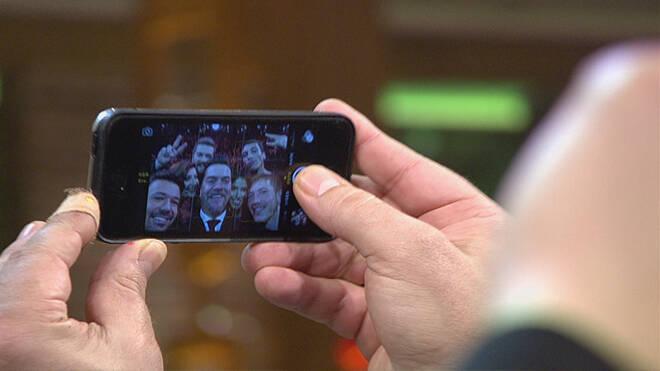 Beyaz Show sezon sonu Selfiesi!..