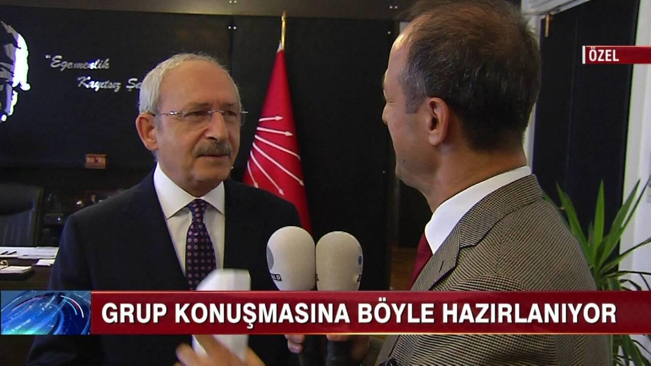 Kılıçdaroğlu ile evden meclise