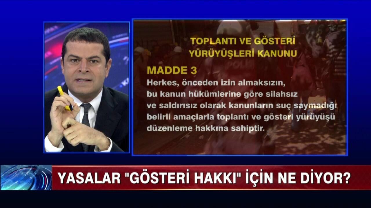 Cüneyt Özdemir'in sert polis müdahalesine tepkisi
