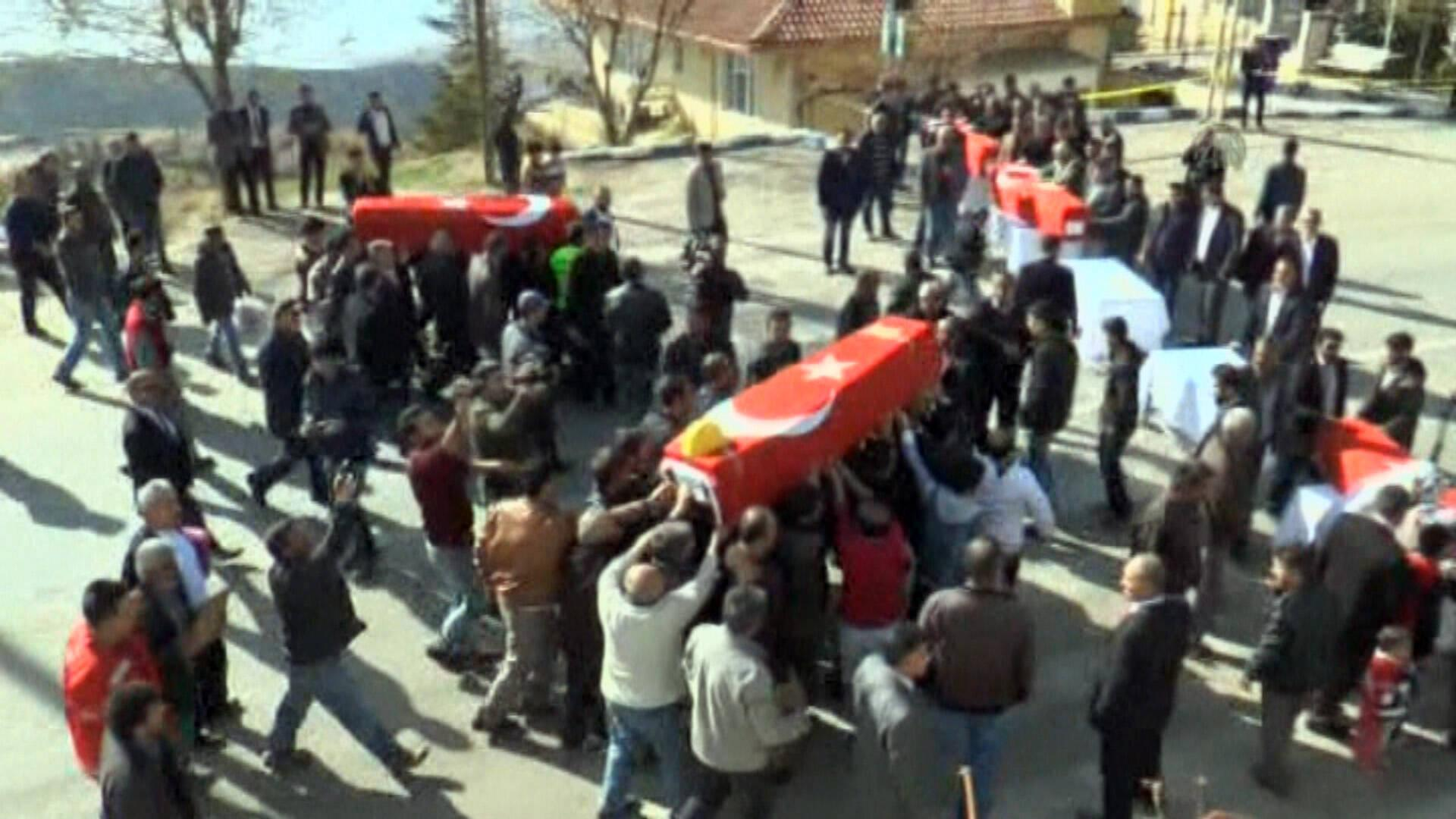 Maden faciasında ölen 5 işçi daha yolculuğa uğurlandı!