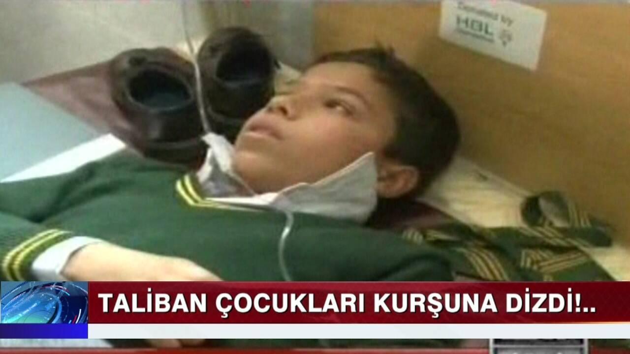 Taliban, çocukları kurşuna dizdi!