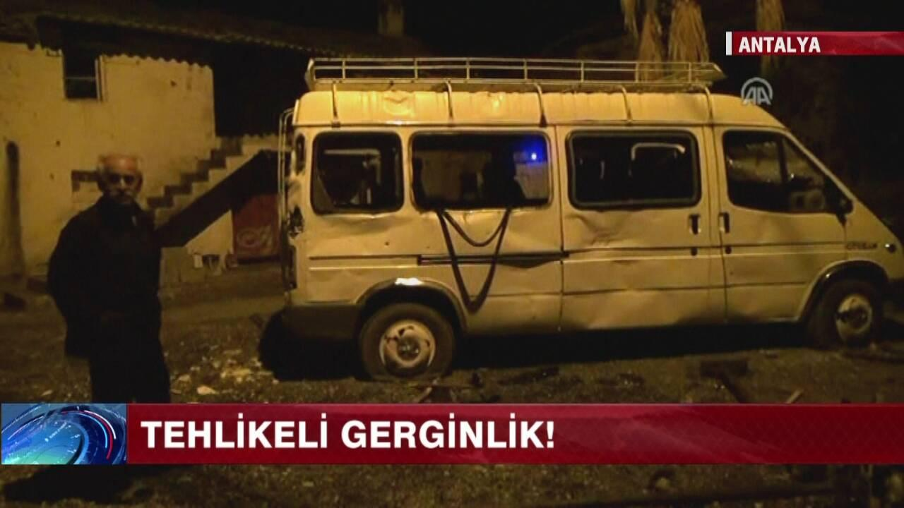 Antalya'daki Suriye krizi!