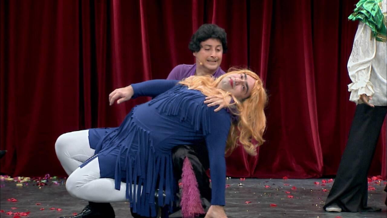 Çiftler dans müsabakası!