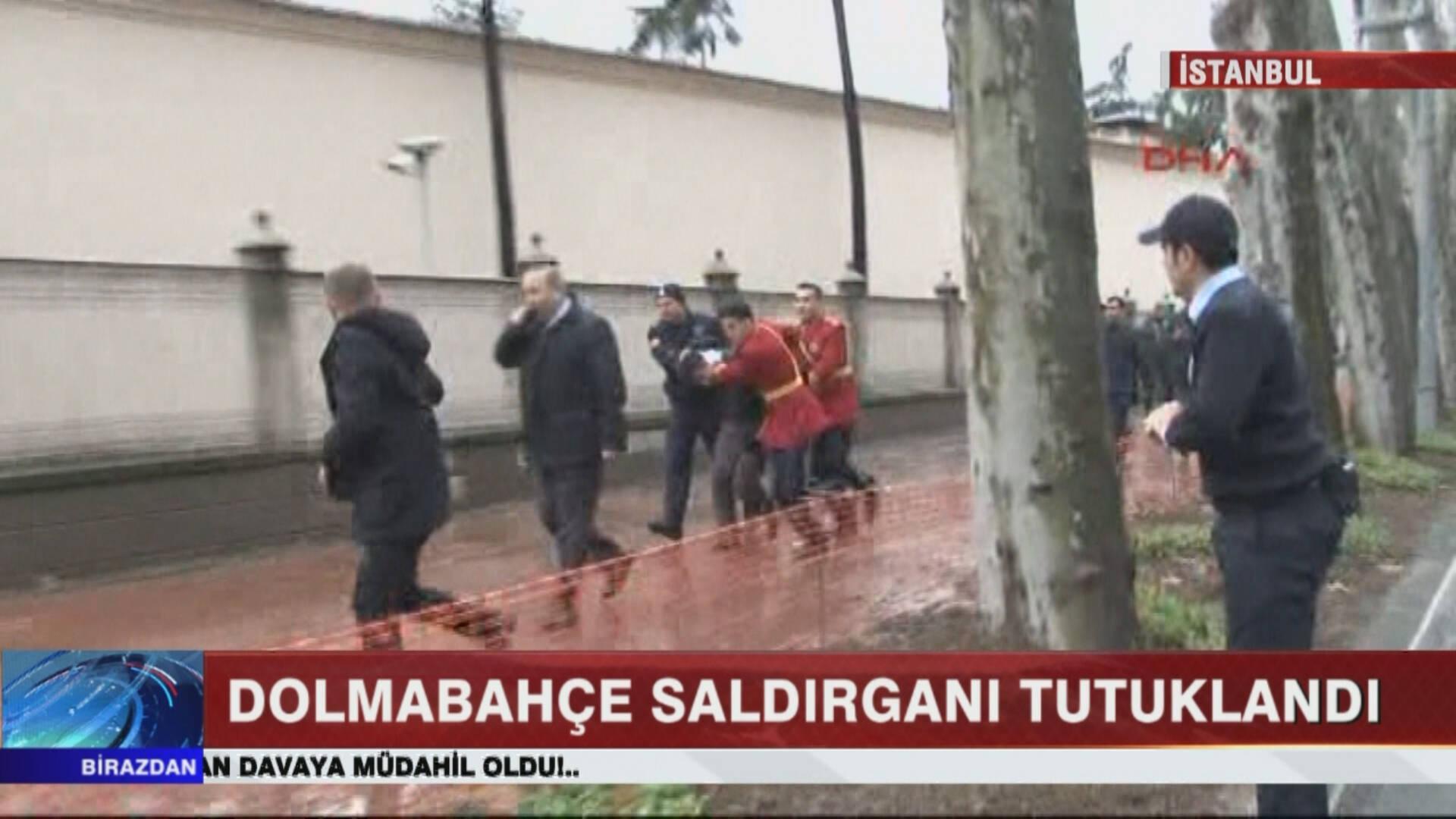 Dolmabahçe Sarayı'na Saldırı Düzenleyen Kişi Tutuklandı!