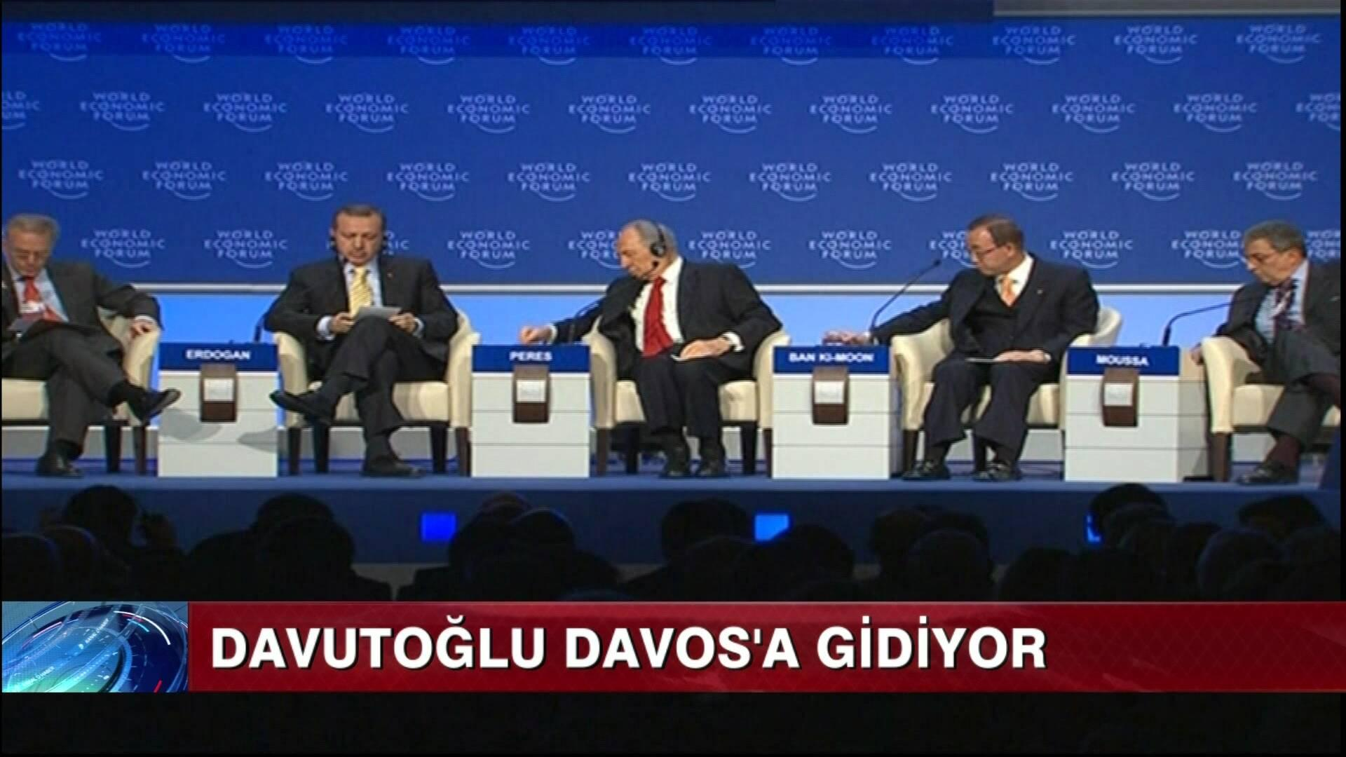 Davutoğlu, Davos'a gidiyor!