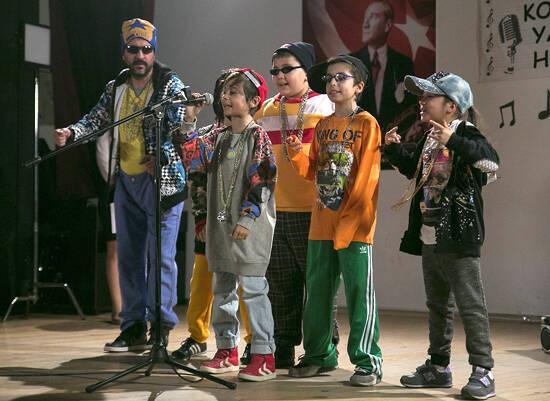 Mehmetcan'dan rap şarkı