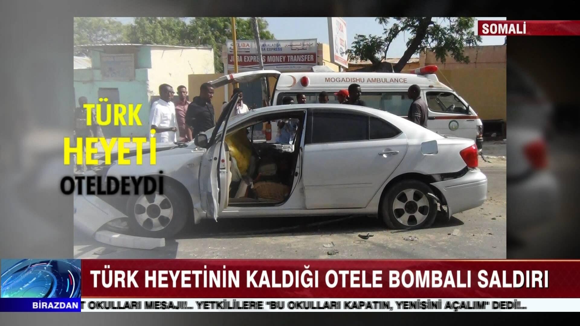 Türk Heyeti'nin kaldığı otele bombalı saldırı!