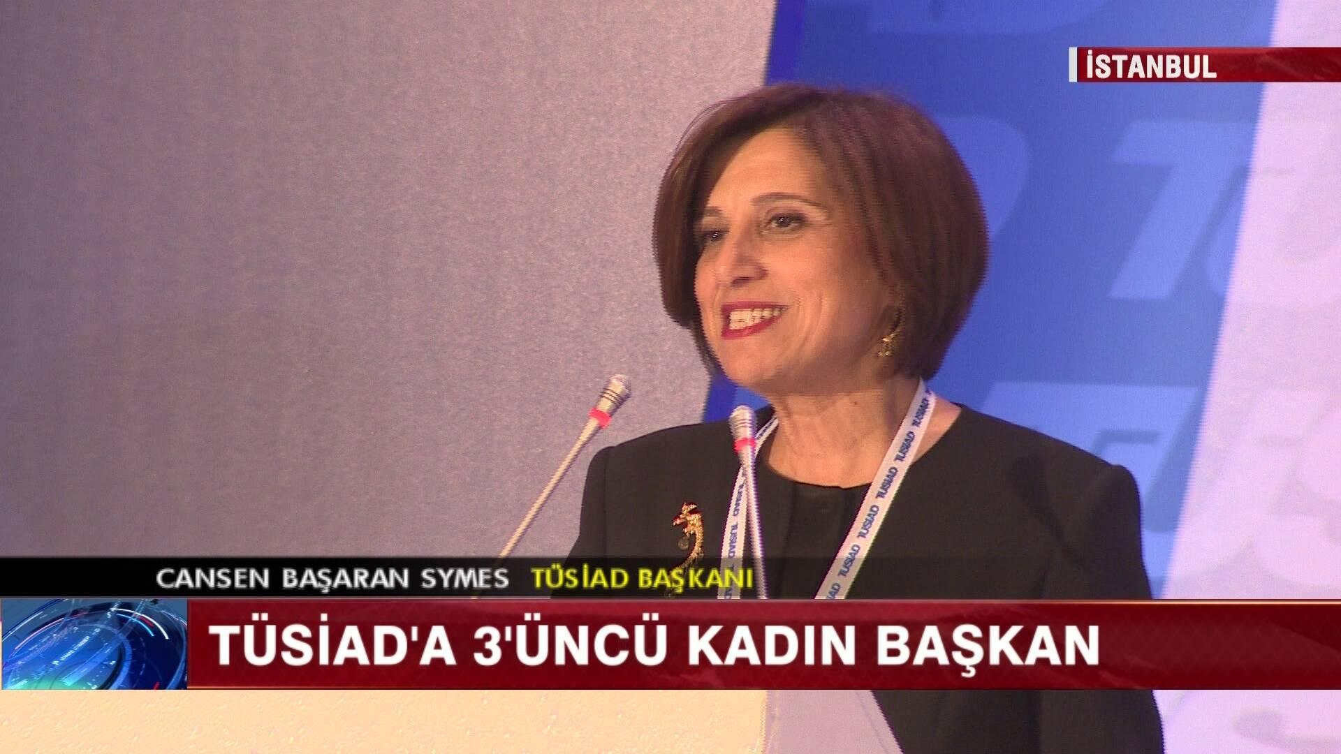 Üçüncü kez kadın başkan!