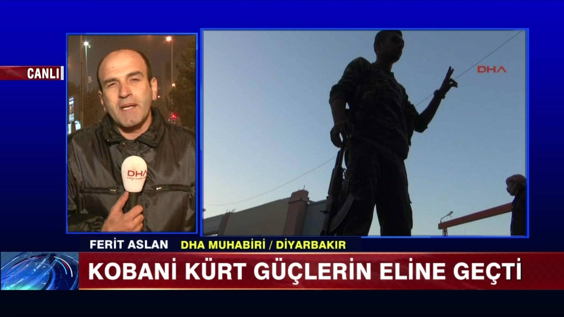 Kobani IŞİD'den temizlendi!