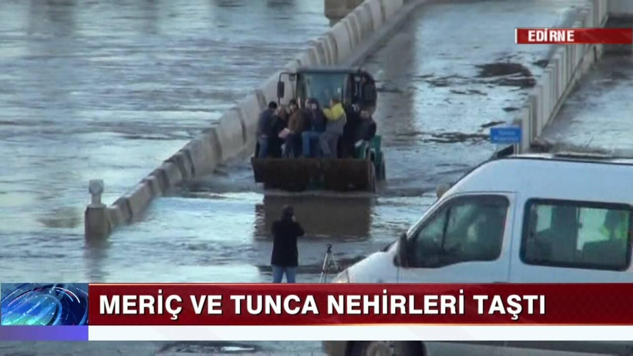 Edirne'de sel alarmı!