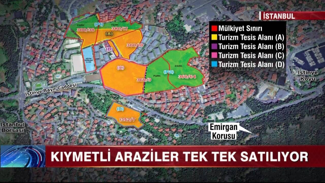 İstanbul'un bir yeşil alanı daha yok oluyor!..