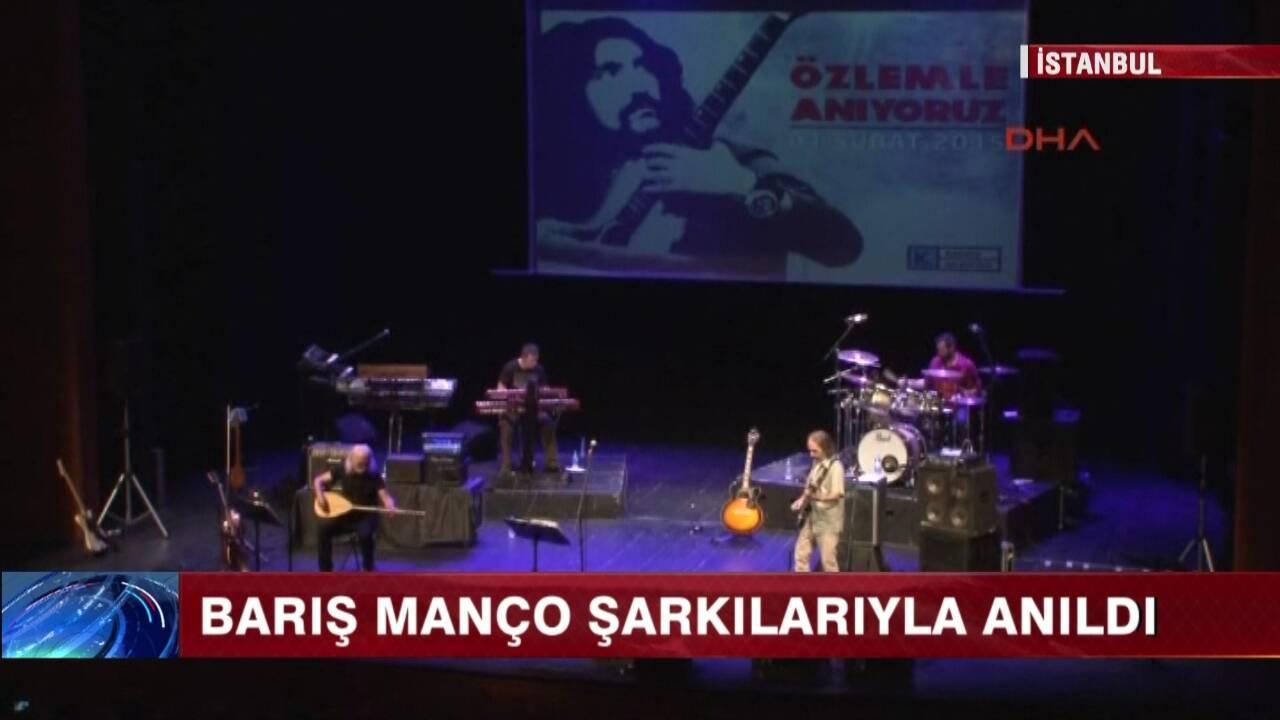 Barış Manço, şarkılarıyla anıldı!
