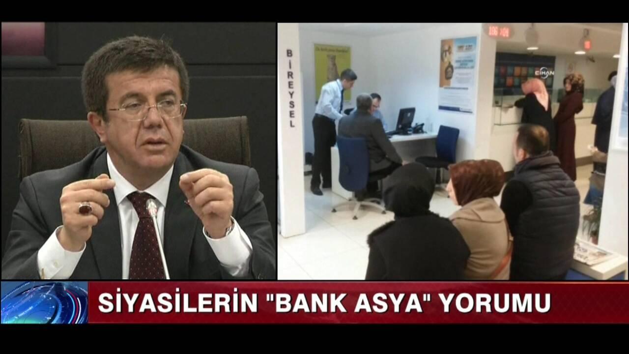 """Siyasilerin """"Bank Asya"""" yorumu"""