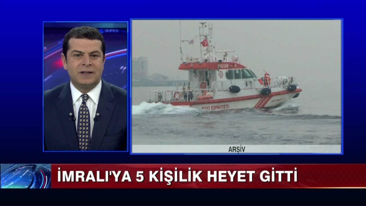 Genişletilmiş HDP heyeti İmralı'da!..