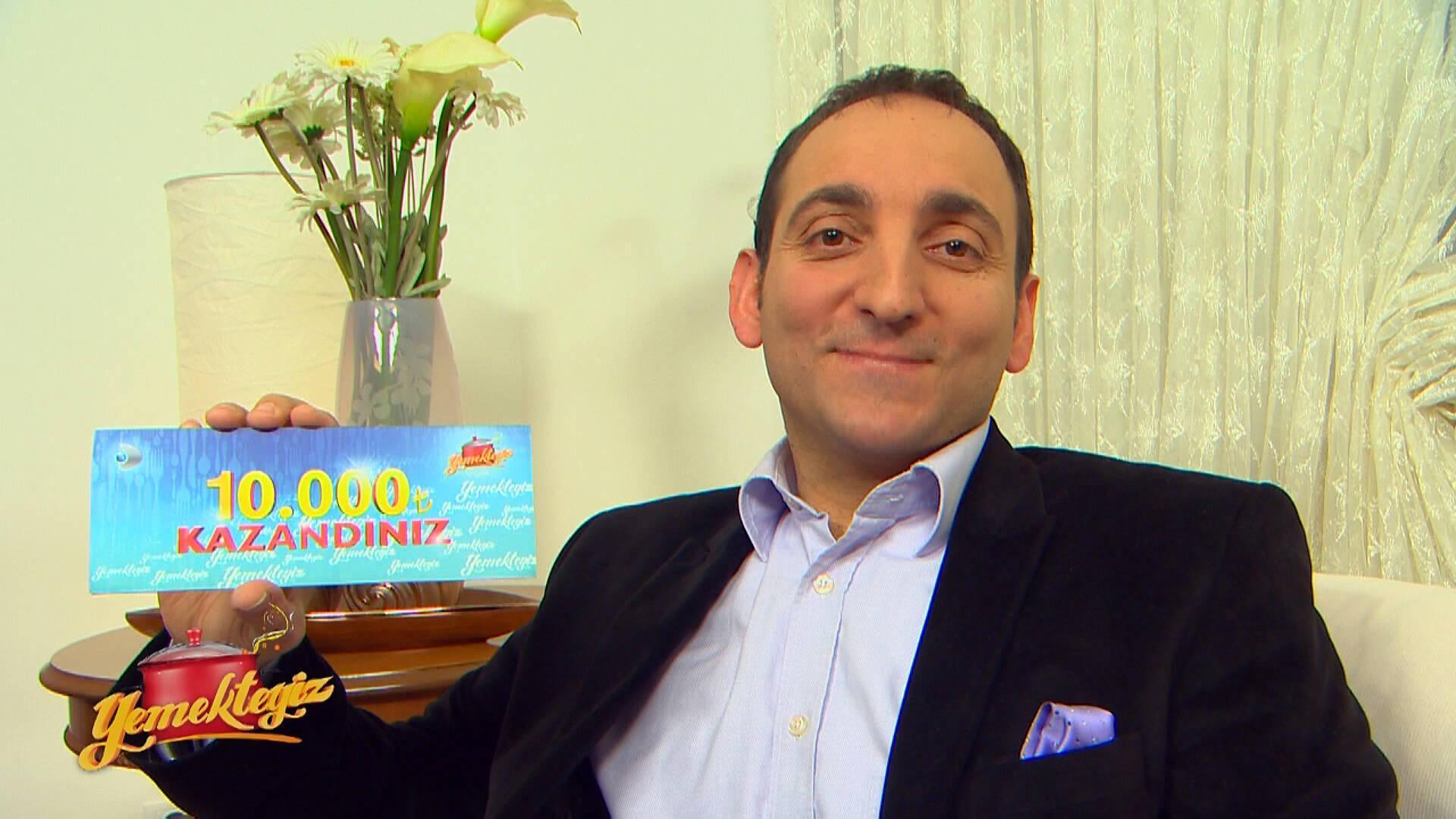 Yemekteyiz 4. Hafta kazananı Burhan Şanverdi!