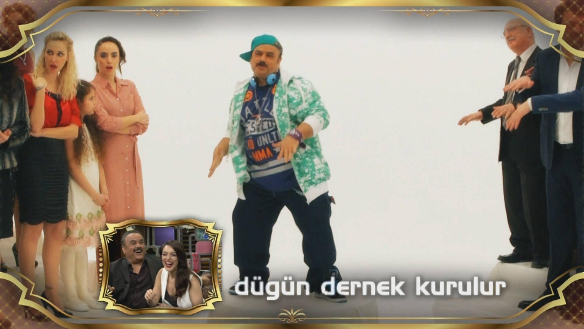 Bülent Serttaş'tan rap!