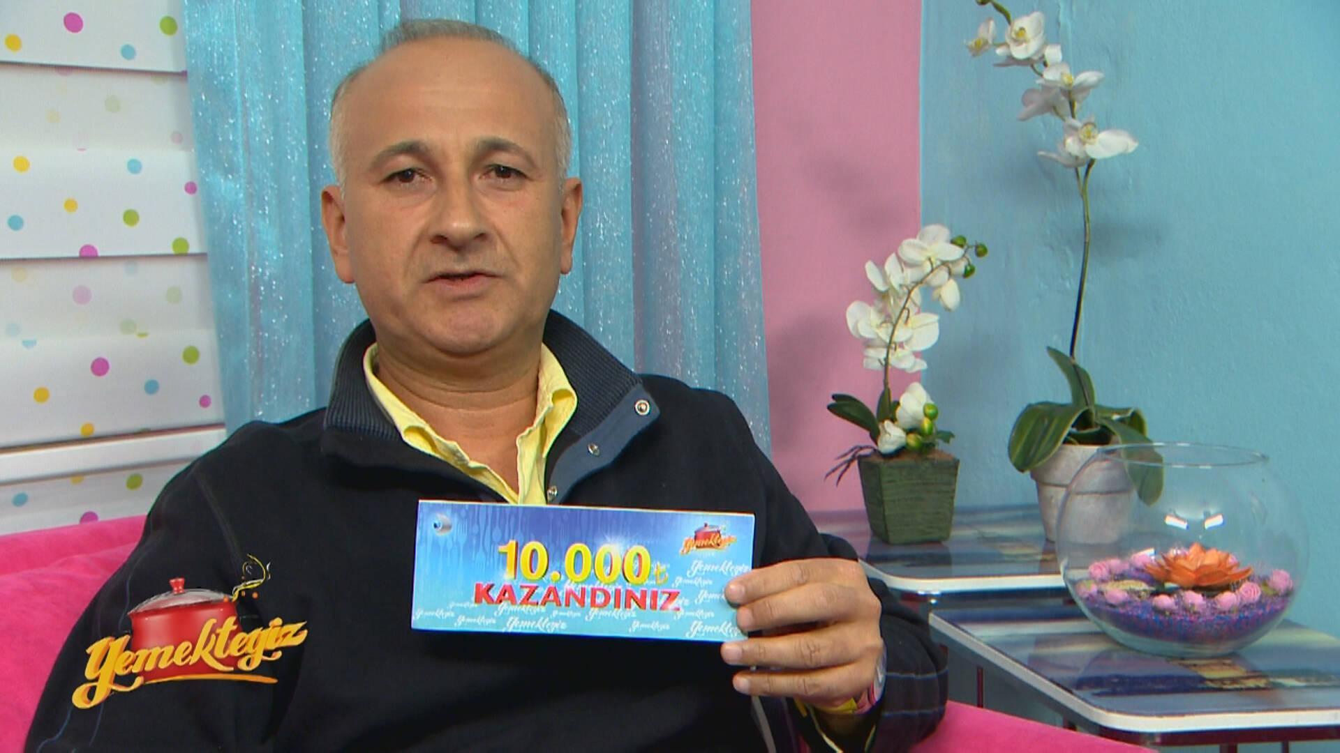 Yemekteyiz 6. Hafta kazananı Ahmet Açıkcan!