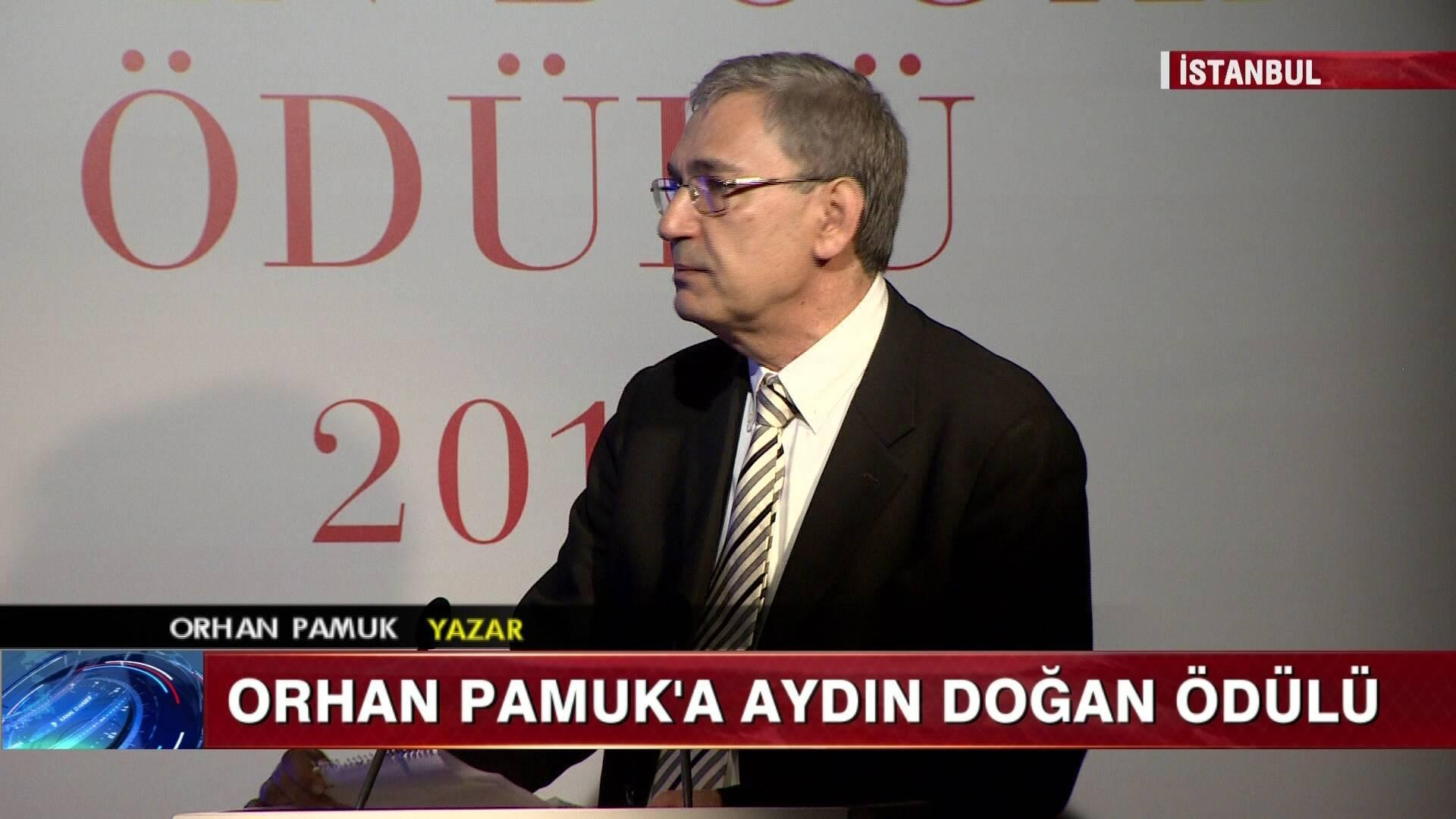 Aydın Doğan Ödülü Orhan Pamuk'a verildi