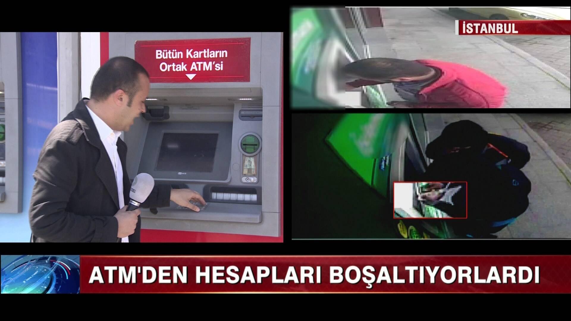 ATM Hırsızlarına şok!