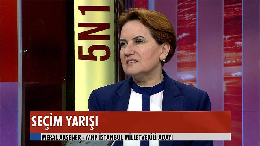 Meral Akşener: Cumhurbaşkanlığı makamına saygı bitiyor!