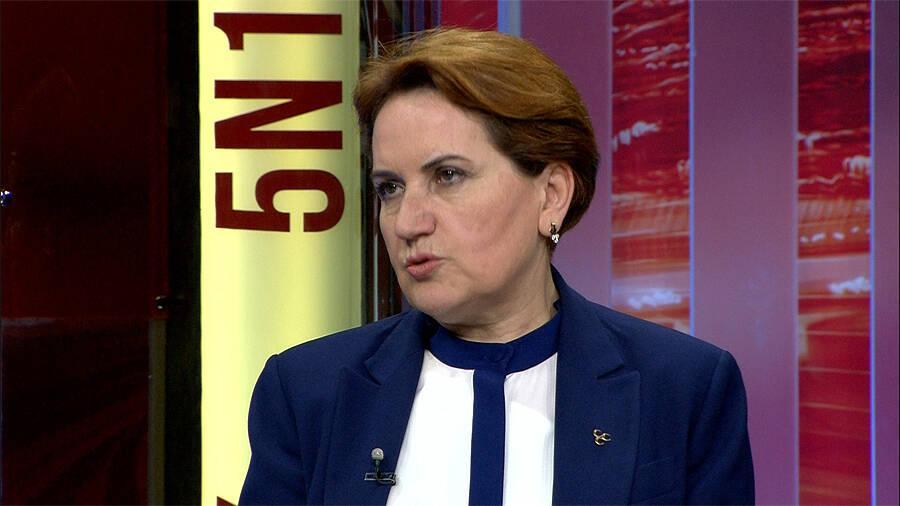Meral Akşener: HDP ile AK Parti yakın çalışma arkadaşı!