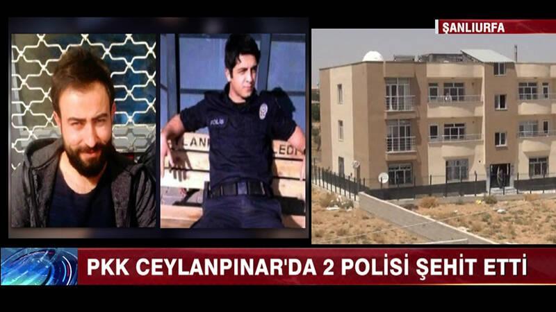 PKK, Ceylanpınar'da 2 polisi şehit etti!