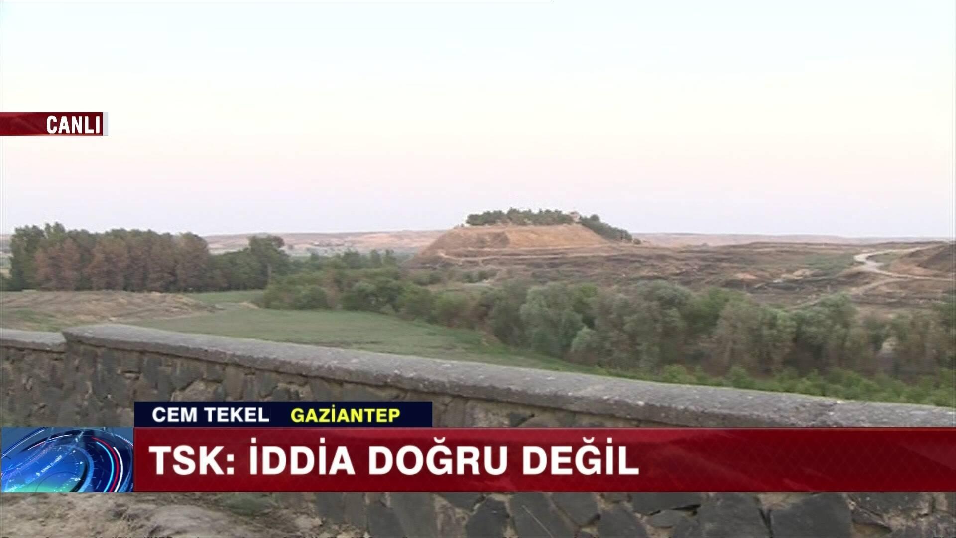 YPG'nin ''TSK bombaladı'' iddiası!