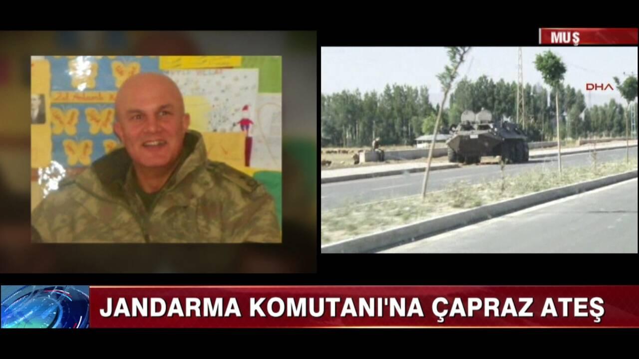 Jandarma Komutanı'na çapraz ateş!