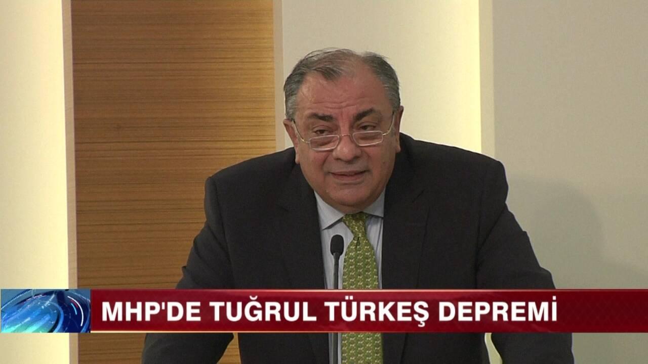 MHP'de Tuğrul Türkeş depremi!