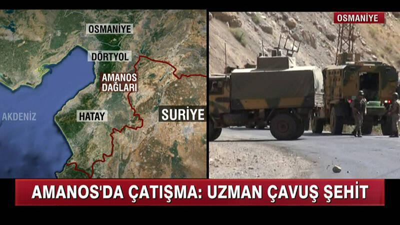 Amanos'ta Çatışma: Uzman Çavuş Şehit Oldu!