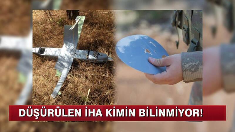 Türk jetleri insansız hava aracı düşürdü!