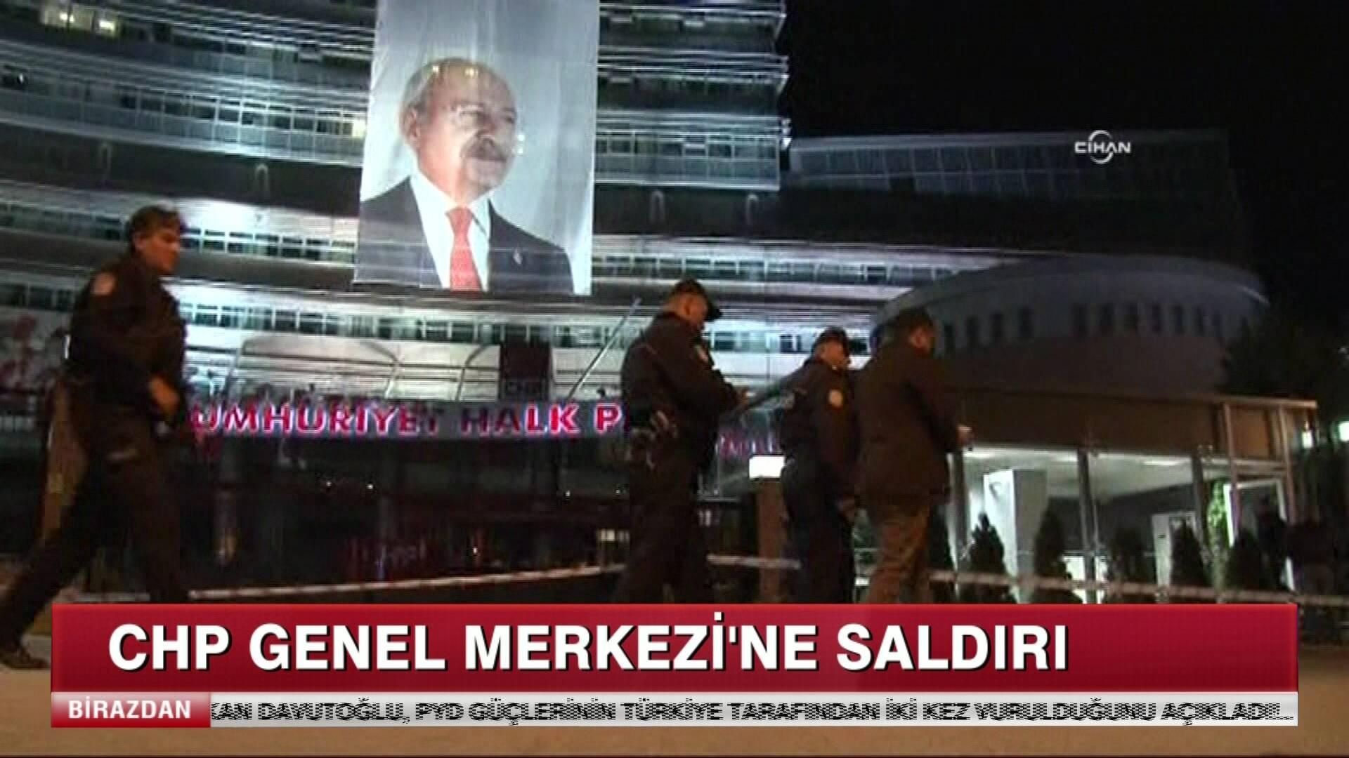 CHP Genel Merkezi'ne Saldırı!