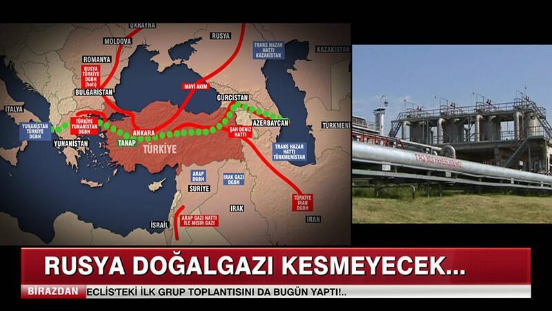 Rusya doğalgazı kesmeyecek!