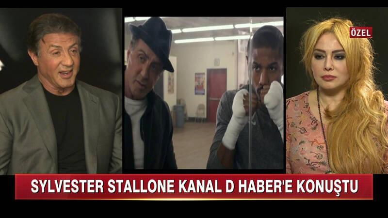 Sylvester Stallone'den Kanal D Haber'e Özel Açıklamalar!