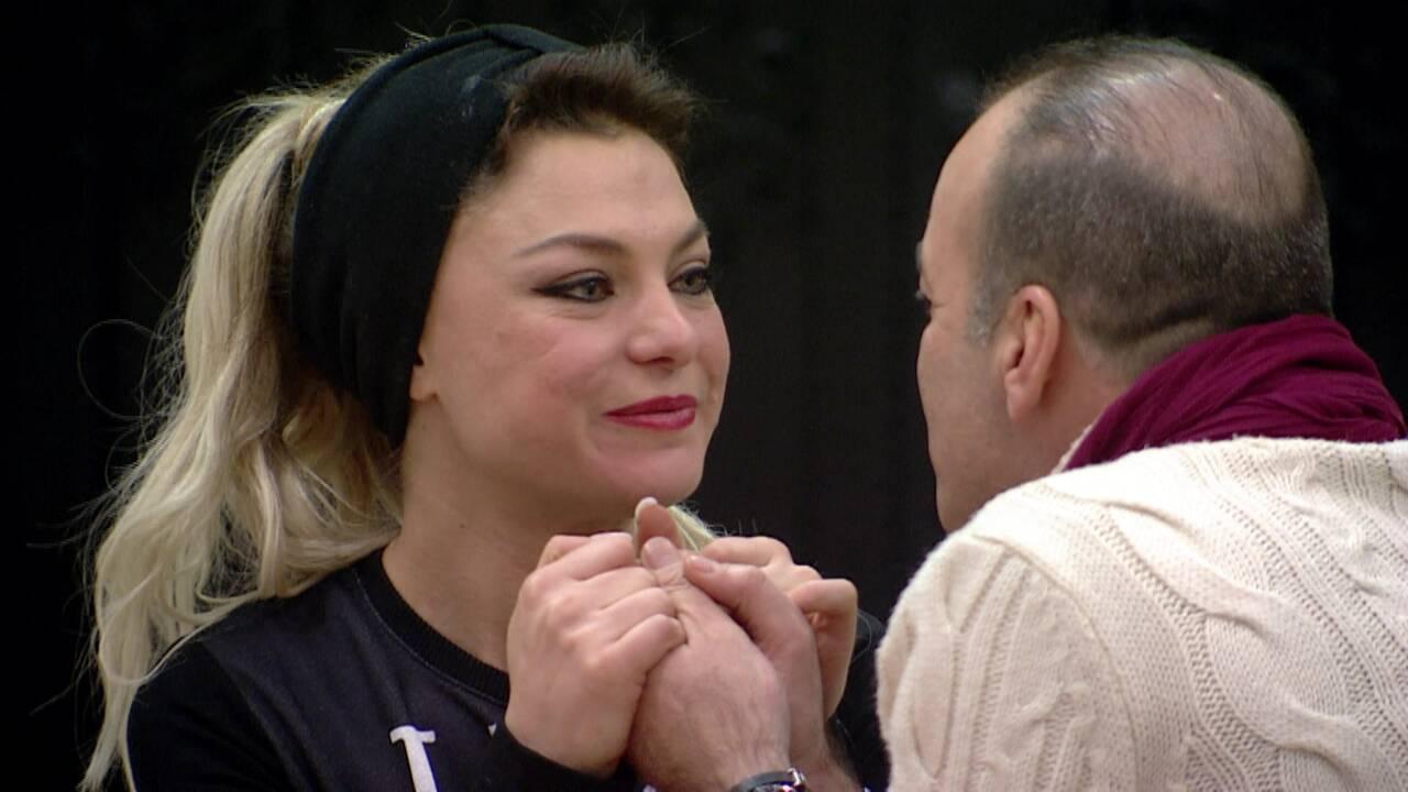 Mehtap ve Murat'ın romantik anları