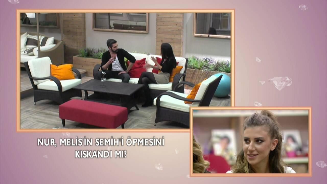 Semih ile ayrılan Nur, Melis'i kıskanıyor mu?