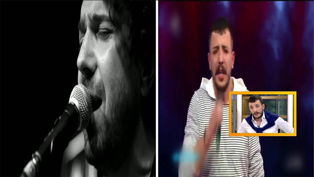 "Halil Sezai ve Ahmet Parlak'tan ""İsyan"" düeti!"