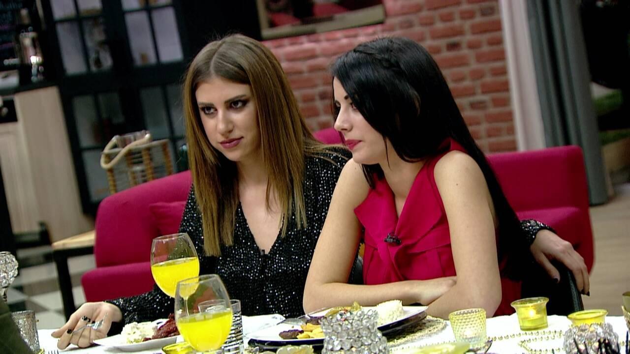 Semih ve Nur'un ödül yemeğine Melis baskını!