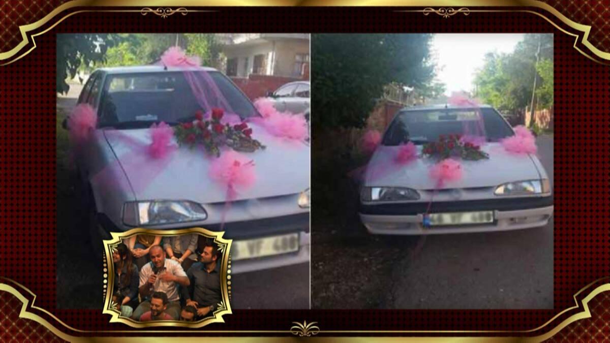 Gelin arabası hikayesiyle herkesi güldürdü!