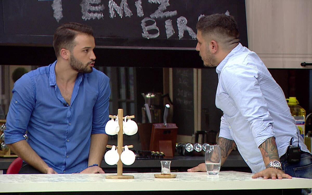 Şahin ve Gökhan arasında tartışma çıkıyor!