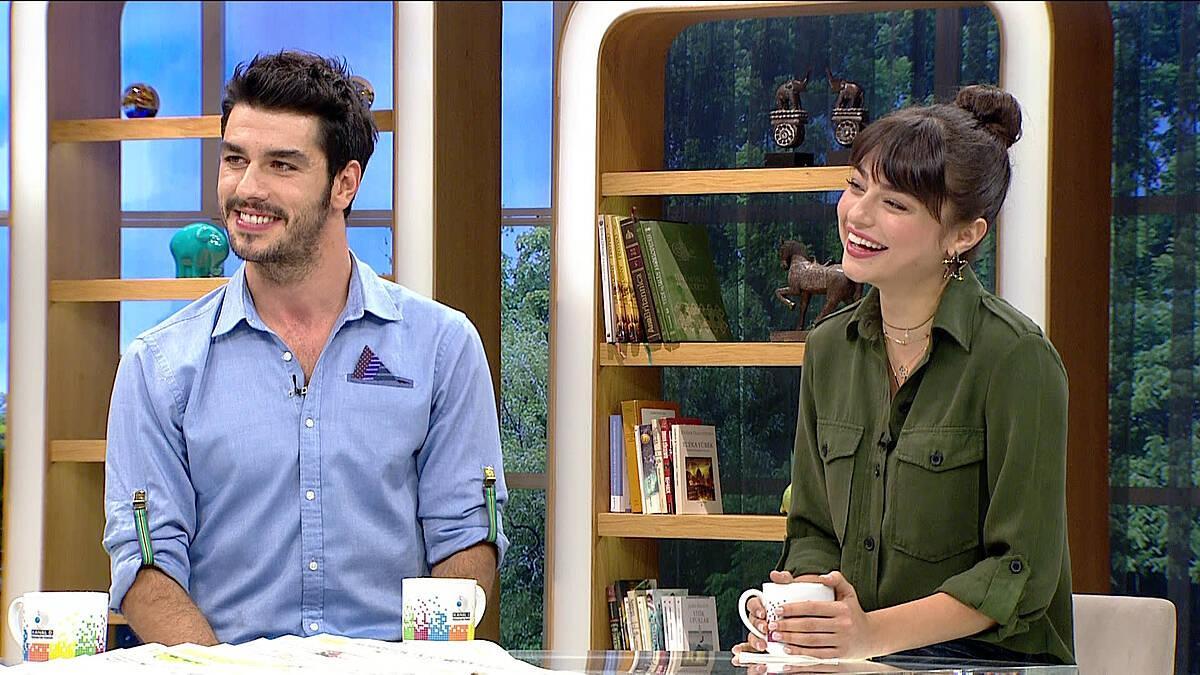 Ayça Ayşin Turan ve Aras Aydın, Altınsoylar dizisinden son tüyoları verdi!