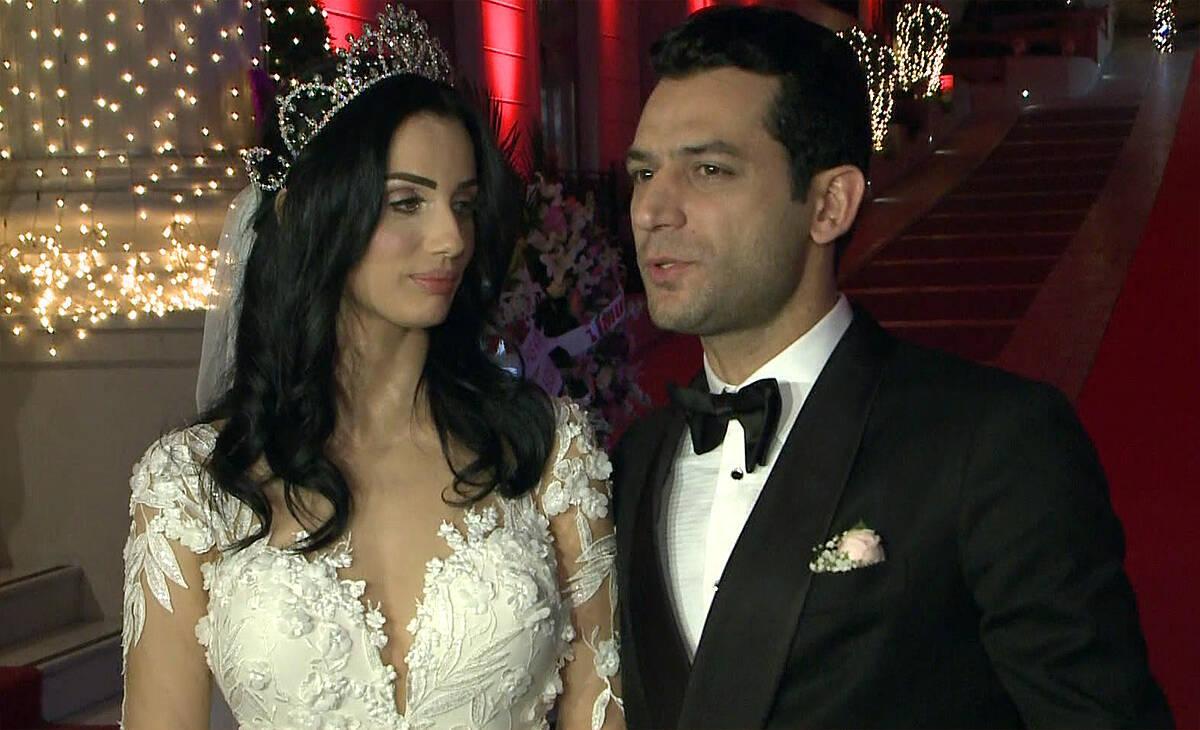 Murat Yıldırım ve Imane Elbani çiftinin düğününden özel görüntüler!