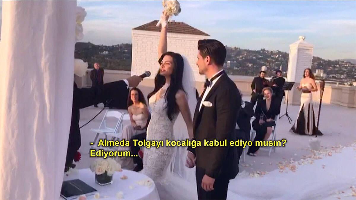 Tolgahan Sayışman ve Almeda Abazi evlendi!