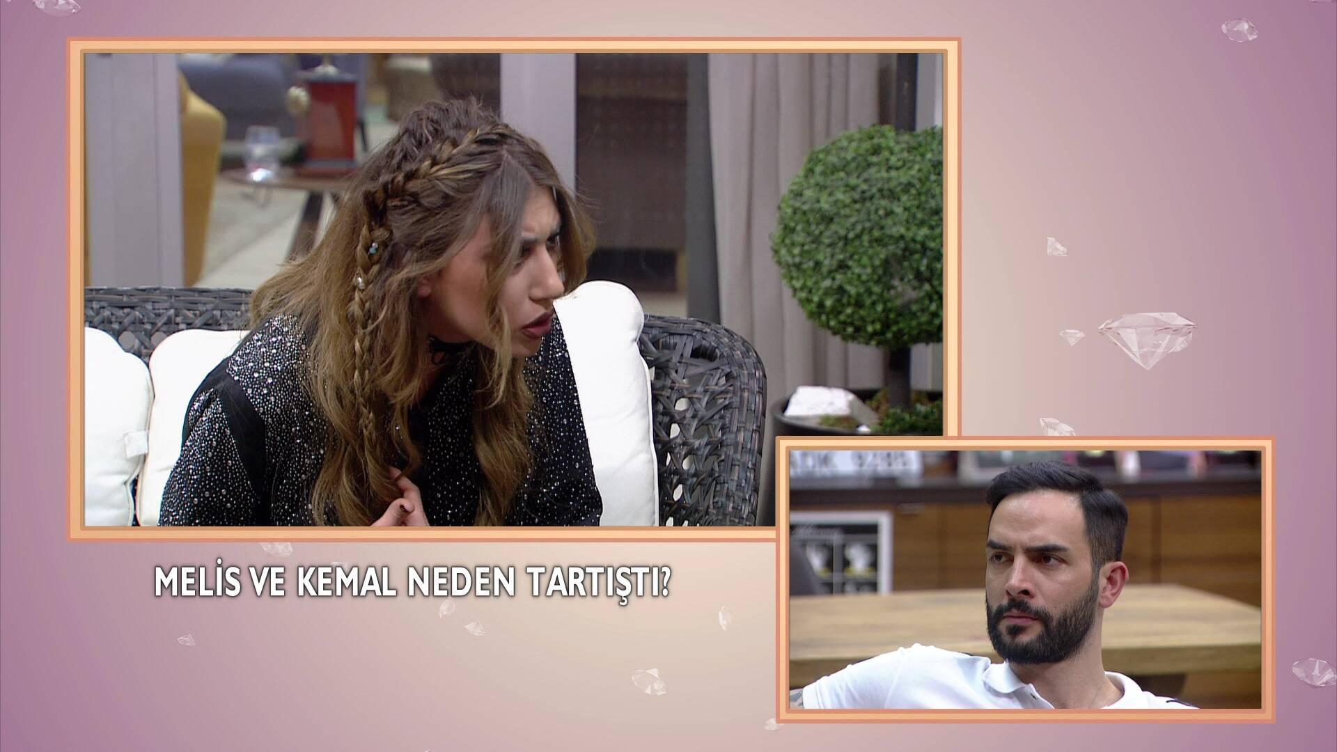 Melis ve Kemal arasında tansiyon yükseldi!