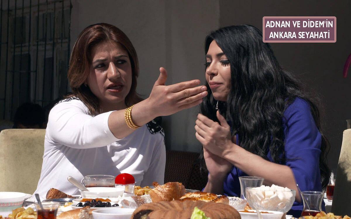Didem ve Adnan'ın yengesi arasında tartışma çıktı!