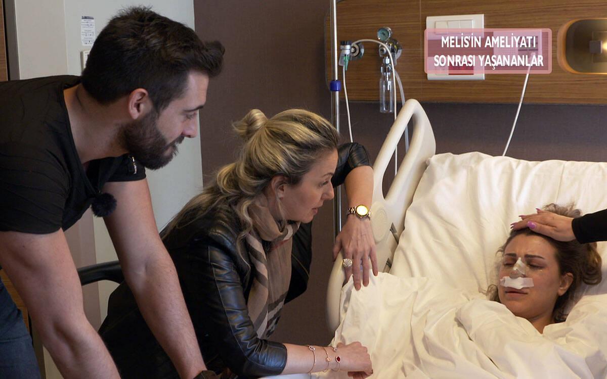 Melis, ameliyat oldu! Arkadaşlarına sitem etti!