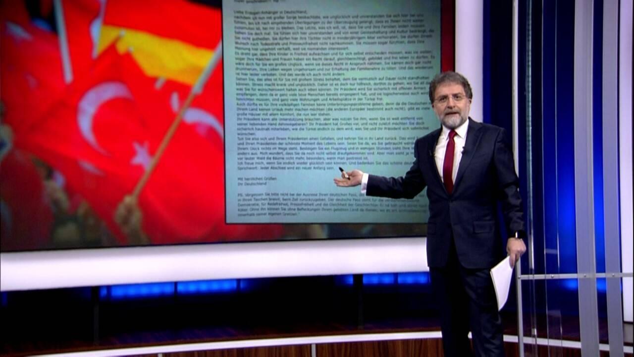 Ahmet Hakan'la Kanal D Haber - 21.04.2017