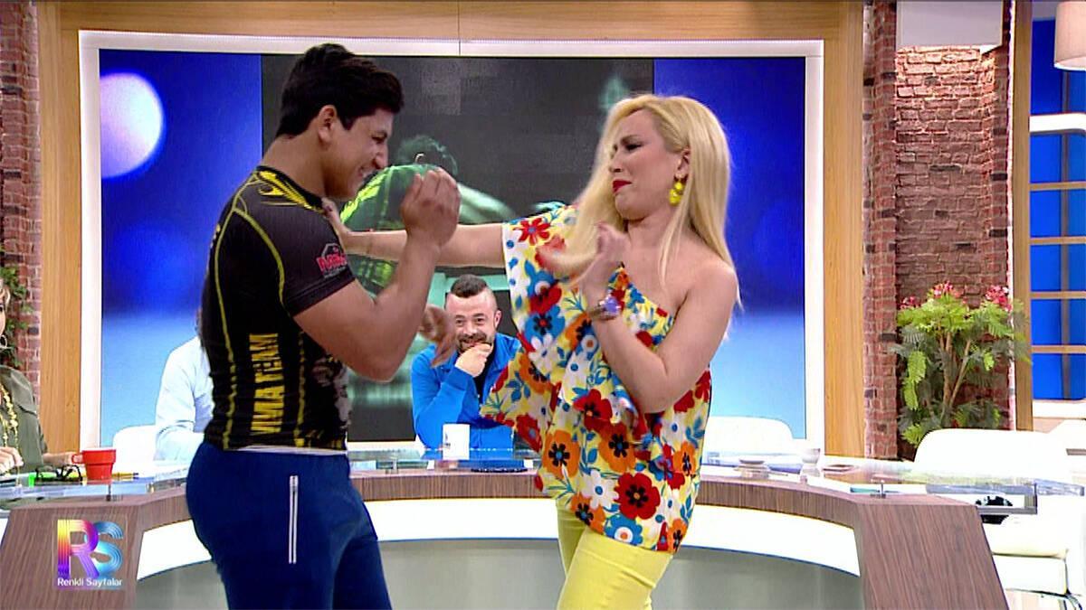 Lerzan Mutlu, dünya şampiyonu Kadir'e kafa tuttu!